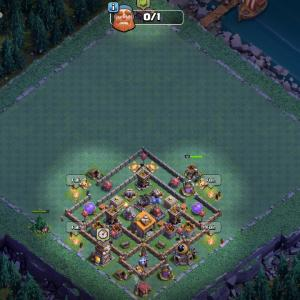 Builder Hall 6 (Witch troll base)