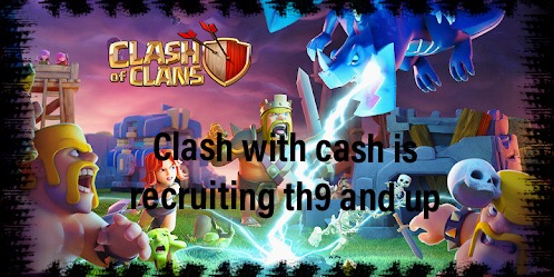 Clash with cash