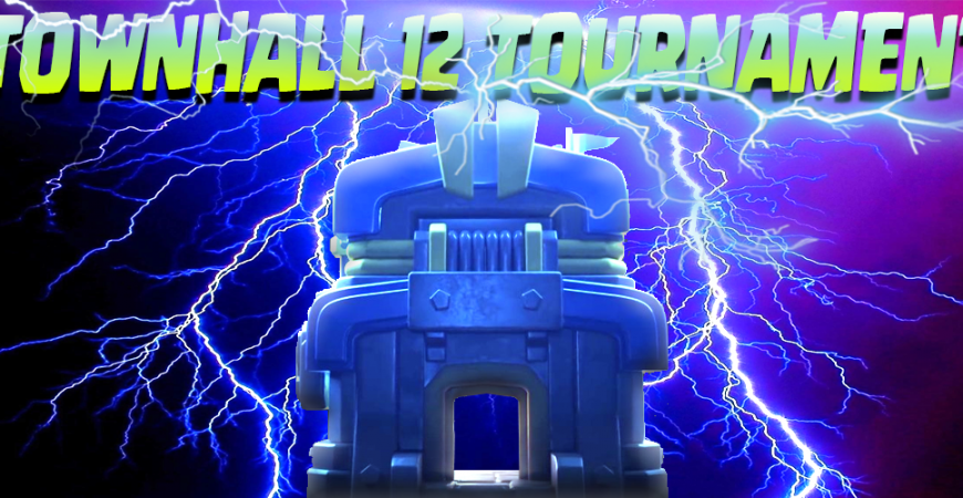 TOWN-HALL 12 TOURNAMENT NOW OPEN