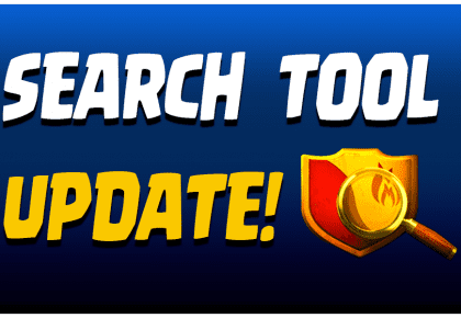 Clan Search Tool Update!