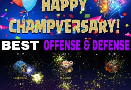 HAPPY CHAMPVERSARY TOURNAMENT – Best Offense & Defense Winners!