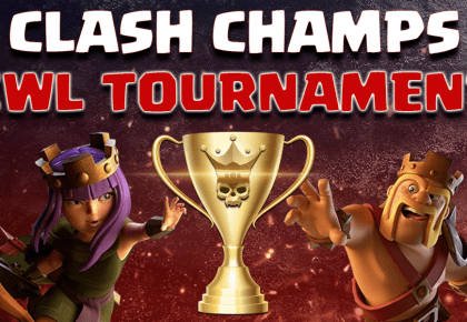 August CWL Tournament Sign ups now open!