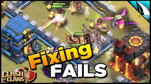 *Fixing FAILS* WHF Mass Baby Dragon to Hogs   Clash of Clans @CarbonFinGaming