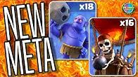 NEW Meta TH9 & TH10 Attacks Live 50v50 War in Clash of Clans @EchoThruMe