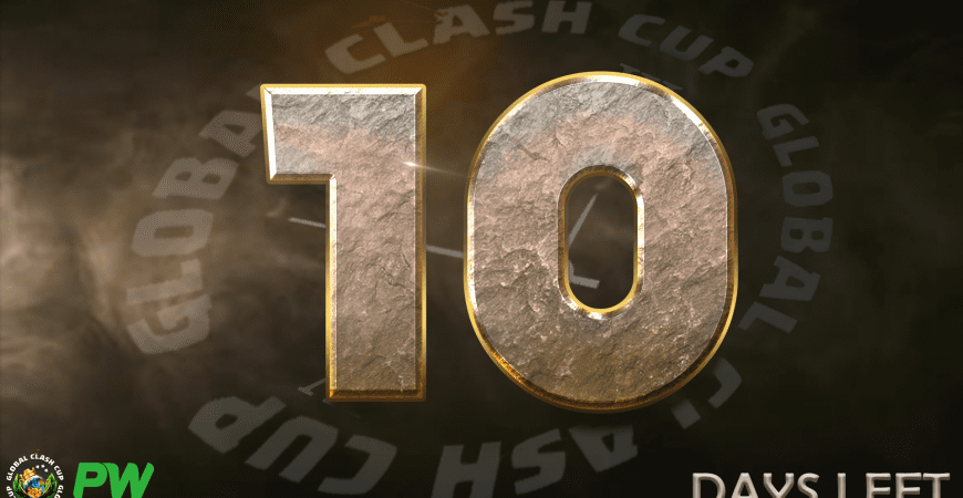 Global Clash Cups 10 Days to Sign Up left!! @clashofnewsint
