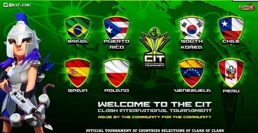 Clash International Tournament @cit_coc