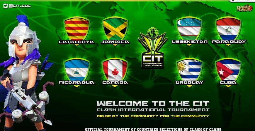 Clash International Tournaments @cit_coc