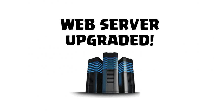 Website Upgraded!