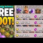 GIVING AWAY MILLIONS OF *FREE* LOOT – Clash of Clans by Clash Bashing!!