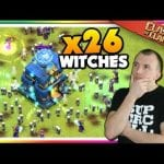 Mass Witch Attacks in LEGENDS LEAGUE | Clash of Clans by Judo Sloth Gaming