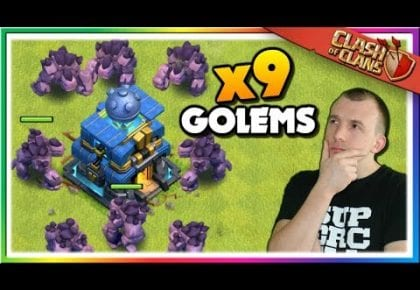 Mass Golem Attacks in LEGENDS LEAGUE | Clash of Clans  @judosloth