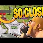 THIS WAS SO CLOSE TO A 3 STAR! – Let's Play TH12 – Clash of Clans by Clash Bashing!!