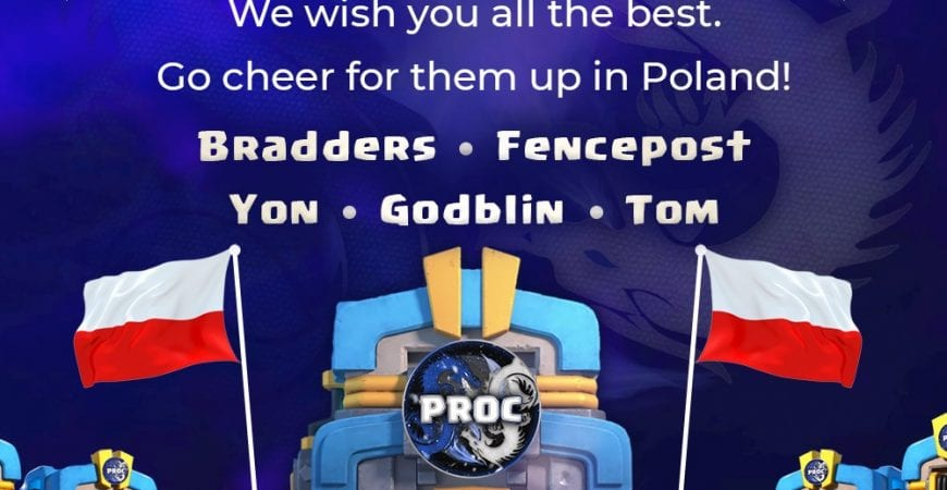 GOOD LUCK PROC!! @elitewarleague