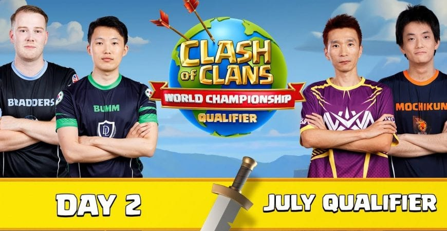 World Championship – July Qualifier – Day 2 – Clash of Clans by Clash of Clans