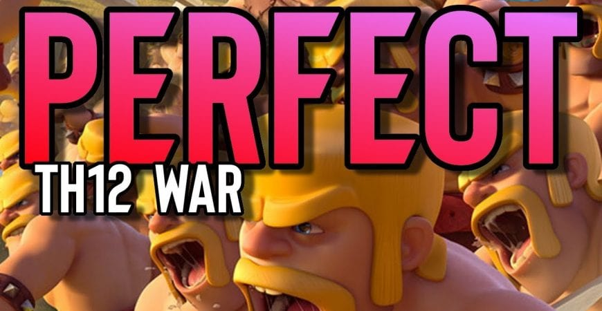 Complete Town Hall 12 PERFECT War by ECHO Gaming
