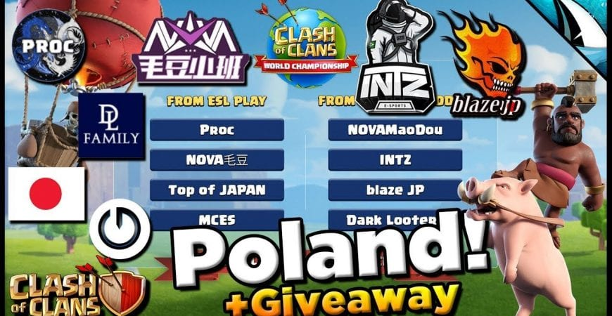 *Time For Poland!* Learn who will be competing in Poland | Giveaway | Clash of Clans by CarbonFin Gaming