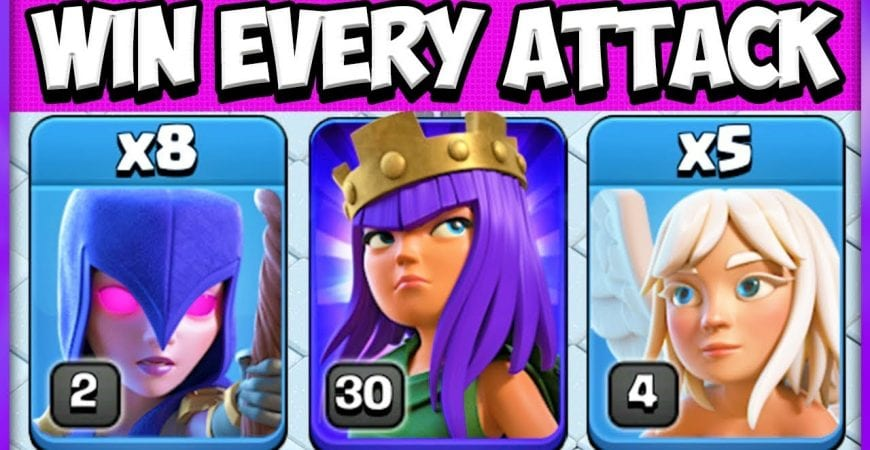 Best Town Hall 9 Attack Strategy | TH 9 3 Star Attack Strategy | QW WitchSlap | Clash of Clans by Clash Attacks with Jo