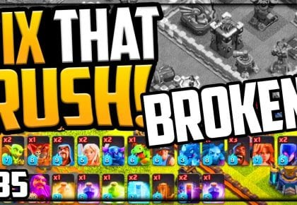 WE BROKE Clash of Clans? Gem, MAX, Fix That Rush Episode 35 by Galadon Gaming