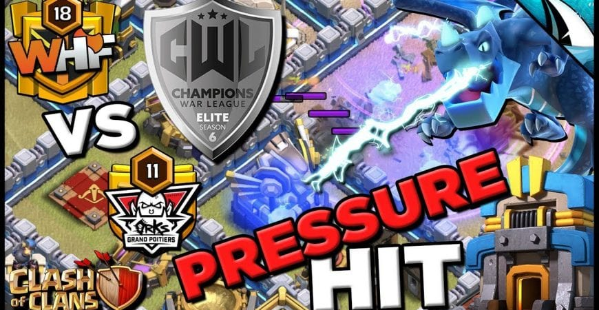*EPIC LIVE HIT* TH 12 EDrag Kill Squad! CWL Elite Playoffs – WHF vs orksGP* | Clash of Clans by CarbonFin Gaming