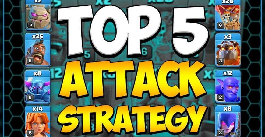 Top 5 Best Town Hall 10 Attack Strategies in 2019 | Clash of Clans by Clash Attacks with Jo