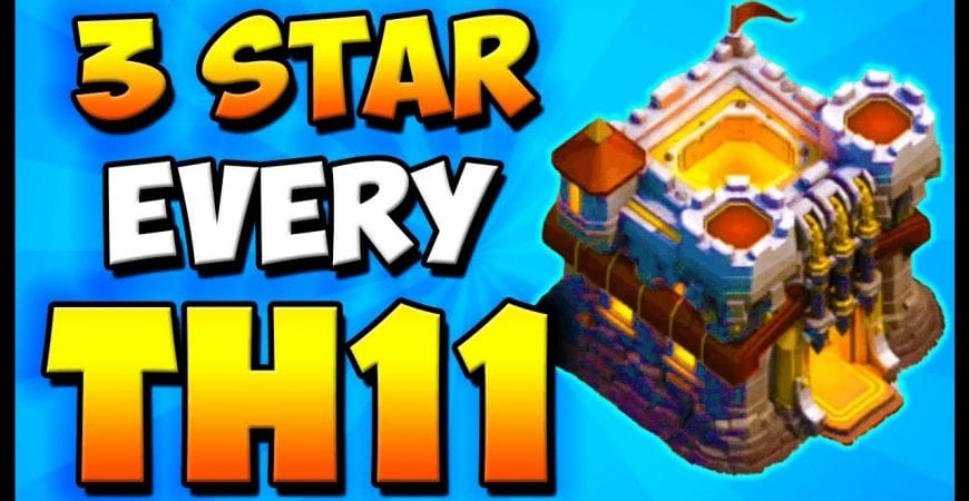 3 Star EVERY Th11 With This One Skill! Town Hall 11 Attack Strategy | Clash of Clans | Queen Charge by Clash with Cory