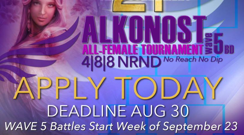 Alkonost All-Female Tournament – Apply today!! @2tTournament