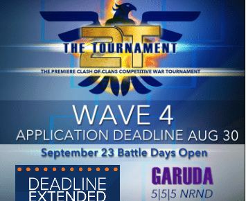 Garuda Applications Extended! @2tTournament