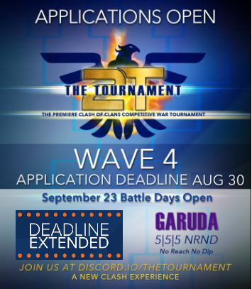 Garuda Applications Extended! @2tTournament