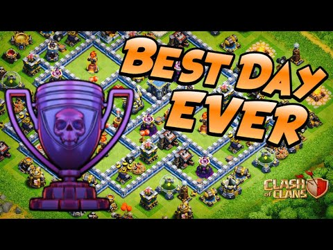 5x THREE STARS in LEGEND LEAGUE! MY BEST DAY in TH12 Push to Max | Clash of Clans by Klaus Gaming