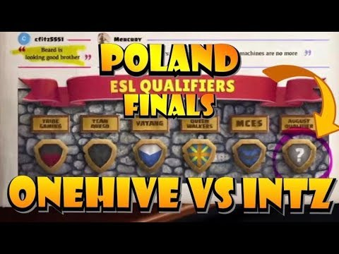 POLAND ESL QUALIFIER FINALS! OneHive VS INTZ Esports LIVE! Don't MISS THIS! by Clash with Eric – OneHive