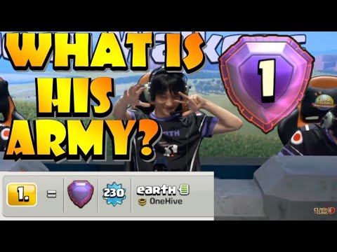 WHAT ARMY DOES THE #1 PLAYER IN THE WORLD USE?! BEST TH12 Attack Strategy in Clash of Clans by Clash with Eric – OneHive