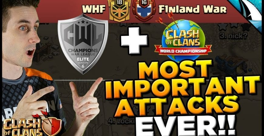 *CWL ELITE FINALS* Most important TH 12 attacks of my career! | Clash of Clans by CarbonFin Gaming