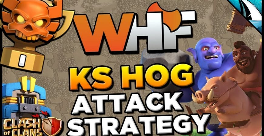 *HOG META* Kill Squad Hog Attack Strategy at TH 12 | Clash of Clans by CarbonFin Gaming