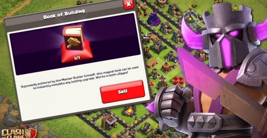 FINALLY USING MY BOOK OF BUILDING! TH11 Let's Play | Clash of Clans by Klaus Gaming