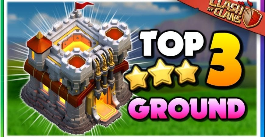 TOP 3 BEST Ground Attacks at TH11 | Clash of Clans by Judo Sloth Gaming