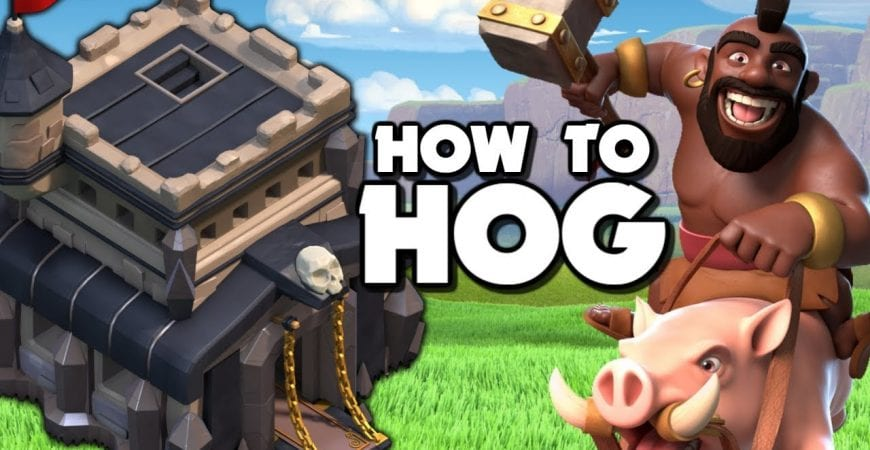How to use Hog Riders – TH9 Attack Strategy | Clash of Clans by Judo Sloth Gaming