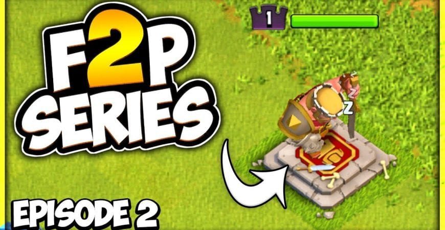Barbarian King in 1 Day | TH 7 Let's F2P Episode 2 | Clash of Clans by Clash Attacks with Jo