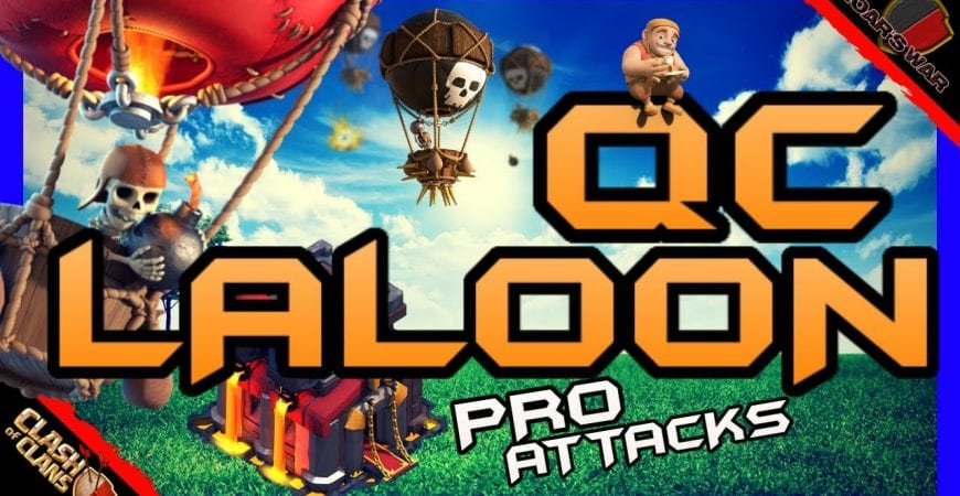 PRO TH10 Queen Charge Laloon | FWL Quarterfinals | Clash of Clans by Roar's War