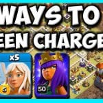 4 Ways to DESTROY With QUEEN CHARGE at TH11! BEST Town Hall 11 Attack Strategy! by Clash with Cory