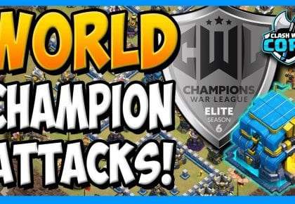 *WORLD CHAMPION* TOWN HALL 12 ATTACK STRATEGY 2019! BEST TH12 – CWL ELITE FINAL! by Clash with Cory