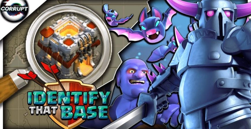 How to Use Pekka Bobat | TH11 Base Identification | Clash of Clans by CorruptYT