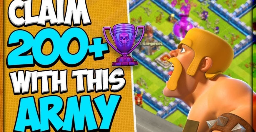 Best Legend League Army Gains 236 Trophies in 1 Day | TH 12 Mass Hog Rider Army by Clash Attacks with Jo