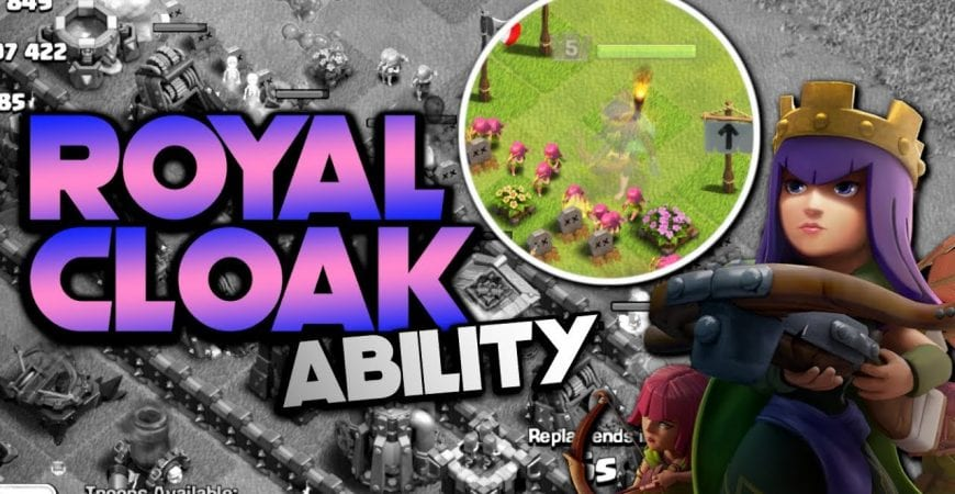 ROYAL CLOAK ABILITY! TH9 Let's Play | Clash of Clans by Klaus Gaming