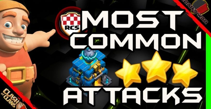 Most Common TH12 Attacks | Clash of Clans by Roar's War