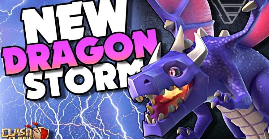 NEW Town Hall 10 Attack Dragon Storm in Clash of Clans by Echo Gaming