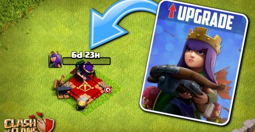FIRST ACTUAL TH11 QUEEN UPGRADE! Fix that Engineer | Clash of Clans by Klaus Gaming