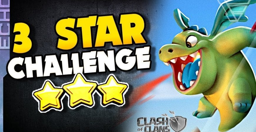 I CHALLENGE YOU to Three Star with THIS Strategy in Clash of Clans by ECHO Gaming