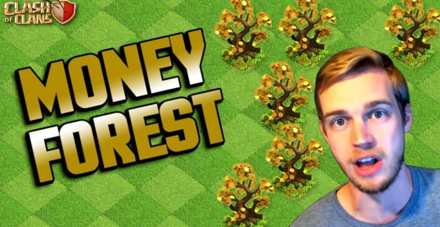 WE FOUND A MONEY FOREST!? Fix that Engineer | Clash of Clans by Klaus Gaming
