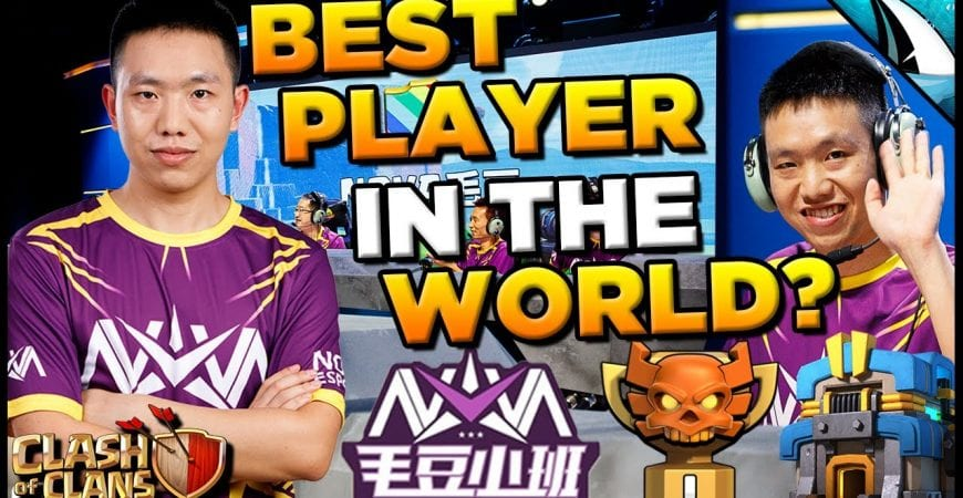 *Best Player in the World?* Wei Goes Perfect 7 for 7 in Champs I | Clash of Clans by CarbonFin Gaming