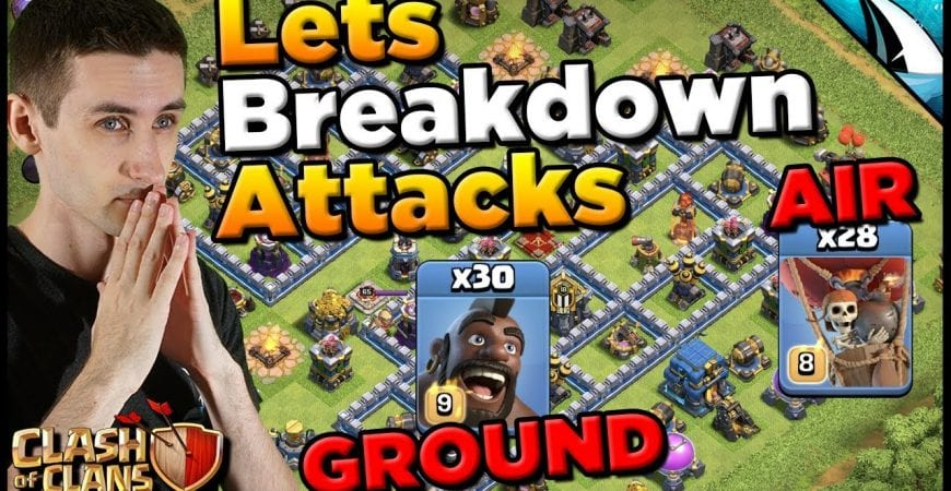 *LIVE Hog & Lalo Hits* Full Breakdowns of TH 12 Attacks | Clash of Clans by CarbonFin Gaming